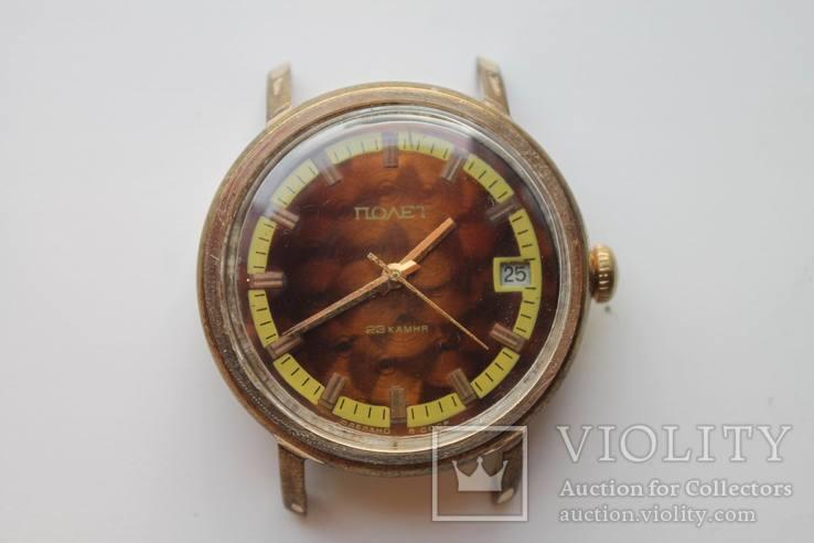 Часы Полет, 23 камня, автоподзавод, AU5, 1МЧЗ