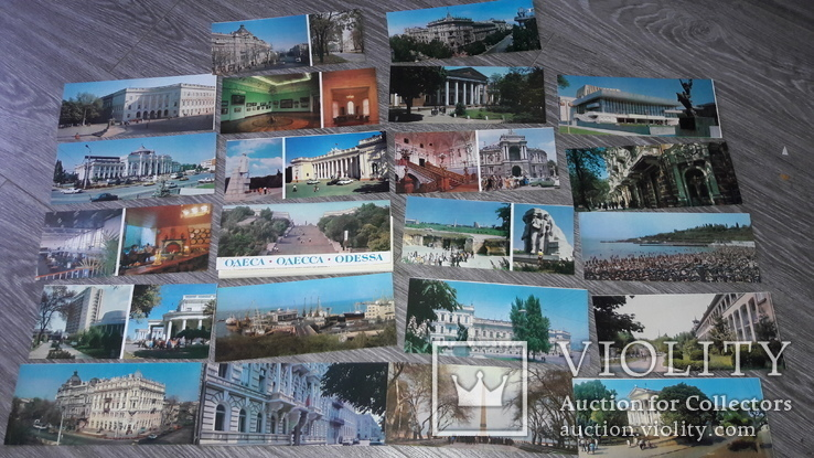 Набор открыток Одесса 1982г. 21шт, фото №3