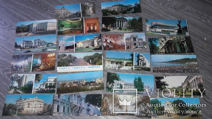 Набор открыток Одесса 1982г. 21шт, фото №4
