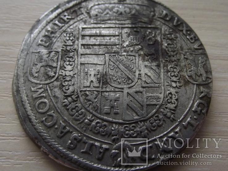 Талер  Эльзас эрцгерцог Фердинанд (1564 – 1595), фото №8