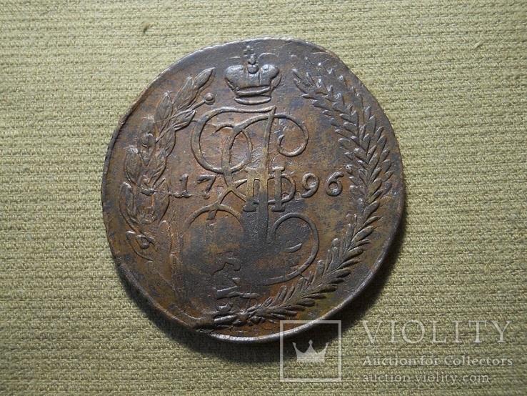 Павловский перечекан  1796г. ЕМ, фото №7