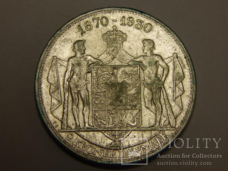 2 кроны, 1930 г Дания
