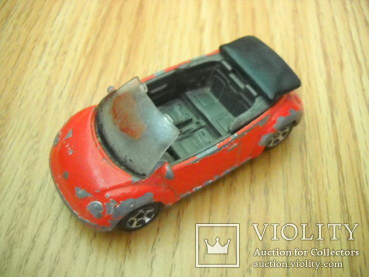 Машинка Фольксваген Жук VW Beetle, масштаб 1 / 57.  RealToy, фото №2