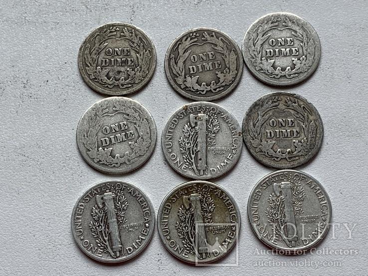14 Монет Серебром США, фото №11