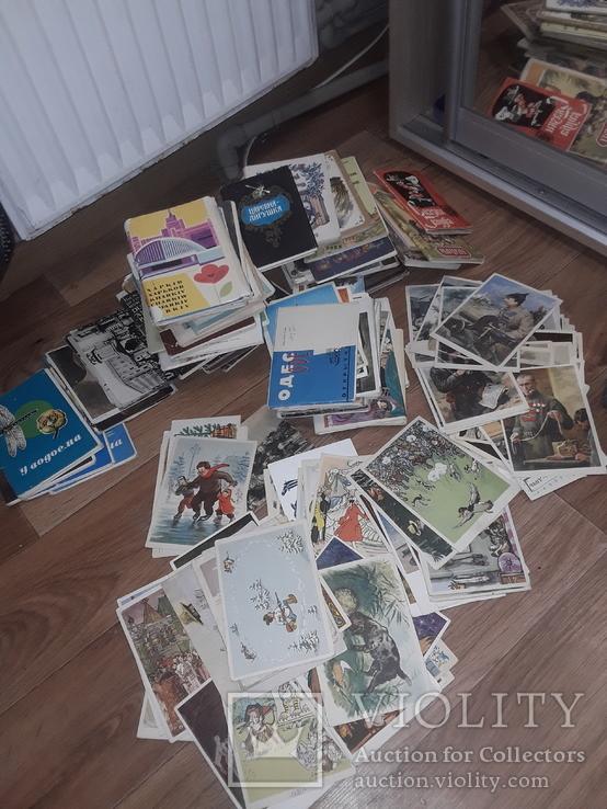 Большой лот сказочных открыток