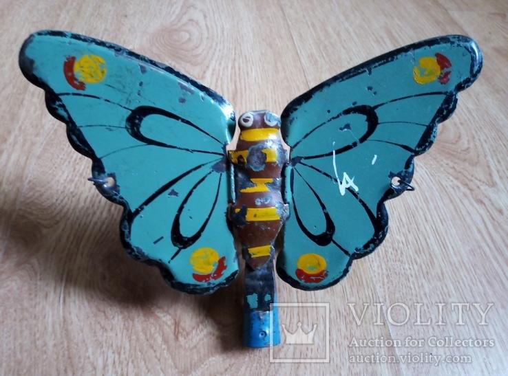 Игрушка каталка Бабочка,Астрецовская артель.