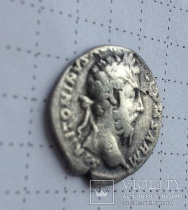 Денарий Марк Аврелий, фото №4