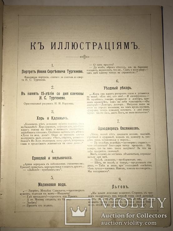 1898 Альбом Фототипий Тургенева Шикарный 30/24, фото №10