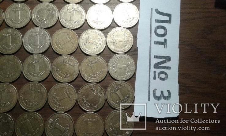 1 грн 2004 рік (год) 190 штук лот №3, фото №3