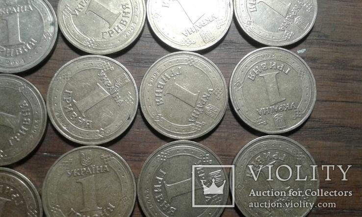 1 грн 2004 рік (год) 190 штук лот №3, фото №10