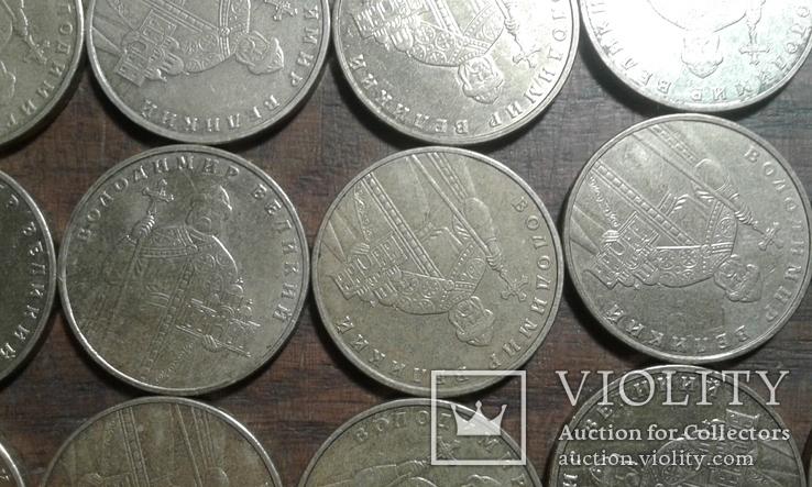 1 грн 2004 рік (год) 190 штук лот №3, фото №12