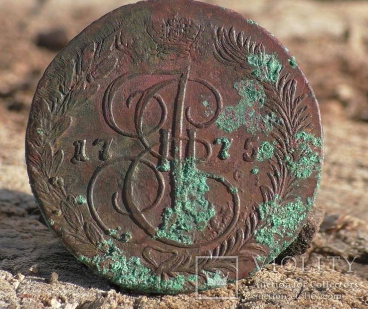 Пять копеек 1775