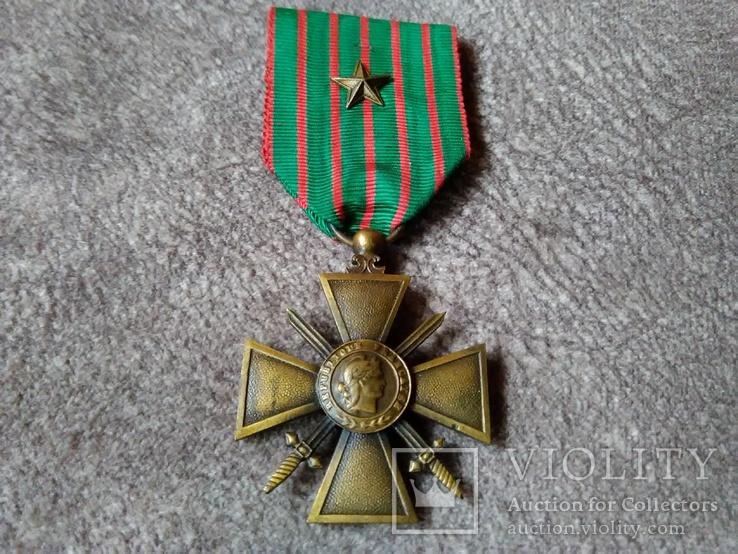 Военный Крест 1914-1918 годов Франция