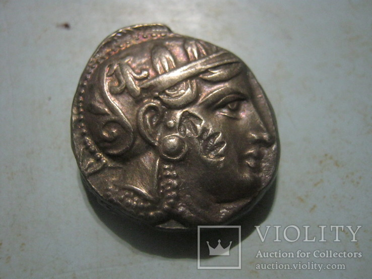 Тетрадрахма Афины Аттика