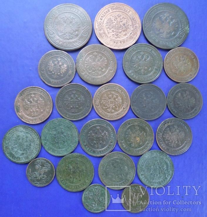 Монеты Российской империи - 23 шт., фото №3