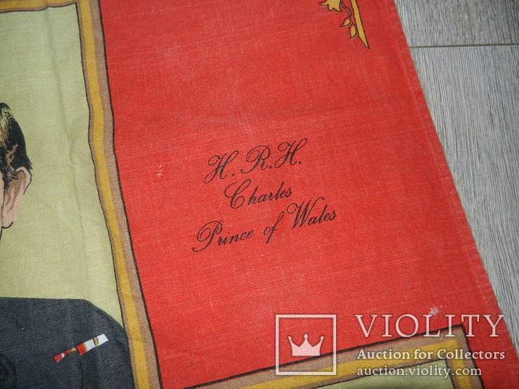 Полотенце с изображением Принца Чарльза и Леди Дианы, фото №6