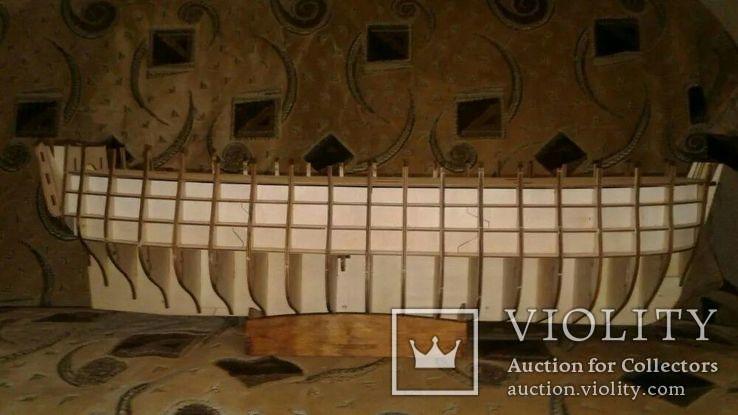 Сборная модель корабля парусника 12 Апостолов, фото №2