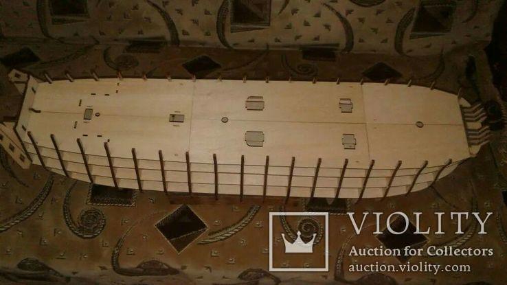 Сборная модель корабля парусника 12 Апостолов, фото №3