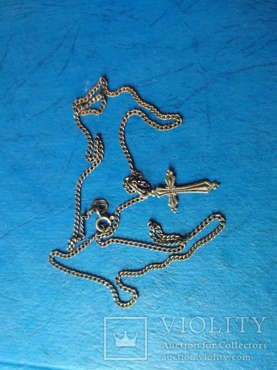 Цепочка с крестиком, фото №3