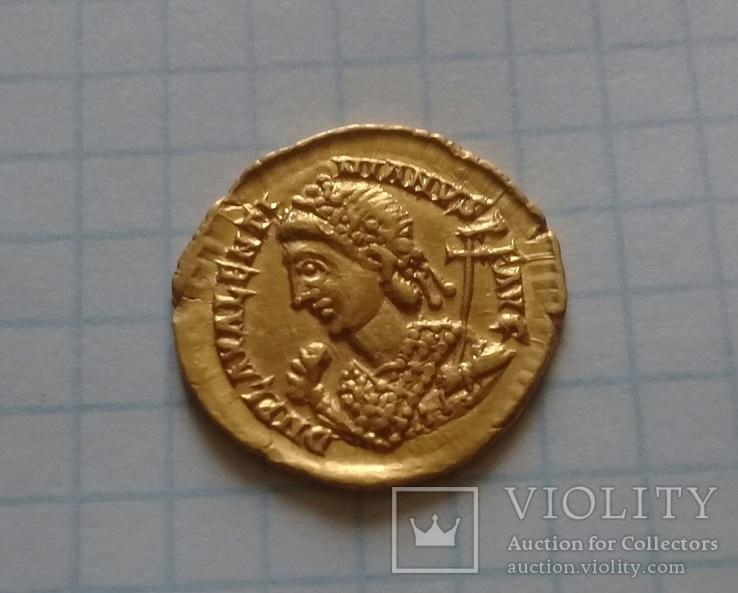 Золотий Солід Valentiniana III