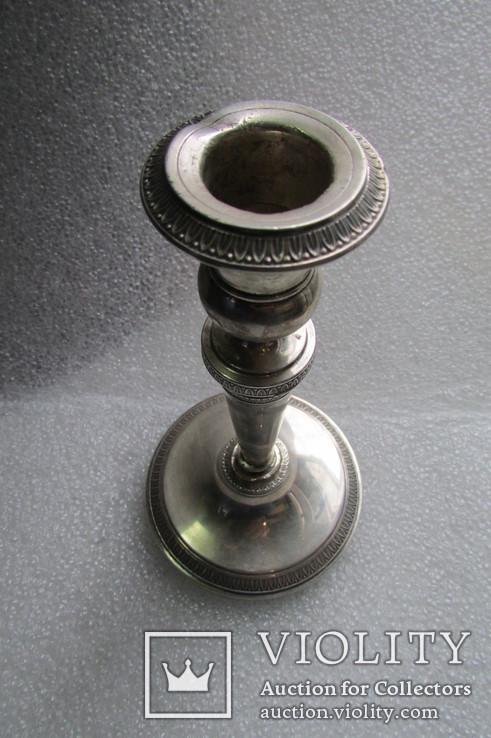 Подсвечник. Серебро 800 проба . 150 грамм ., фото №4