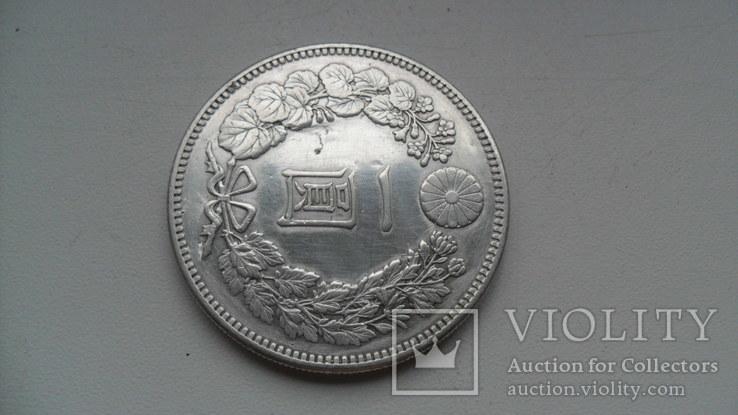 1 йена 1894 года Япония, фото №4