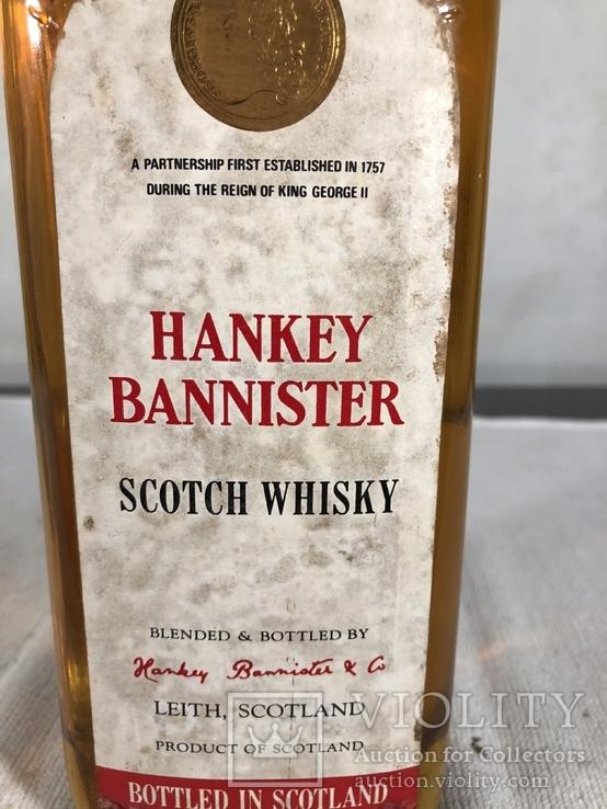 Виски Hankey Bannister 1.0 л.,  1970-е, фото №3
