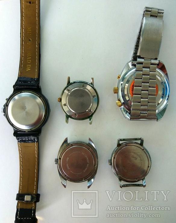 5 механических часов одним лотом, фото №3