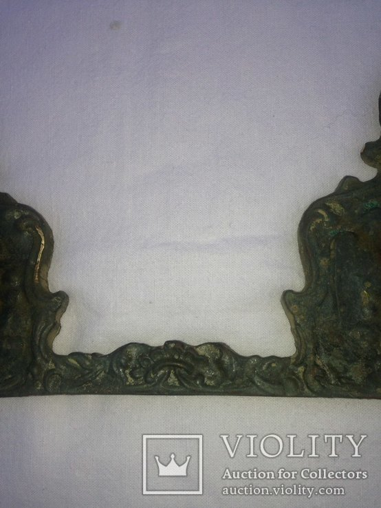 Бронзовый оклад (накладка?), фото №9