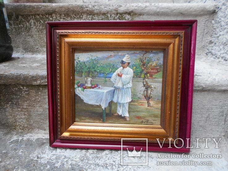 Pабота художника Джованни Панса 1920 г. Италия