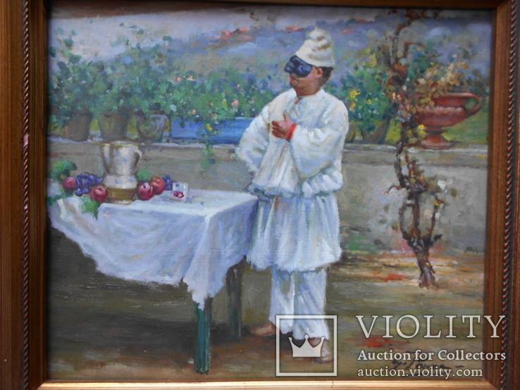 Pабота художника Джованни Панса 1920 г. Италия, фото №3
