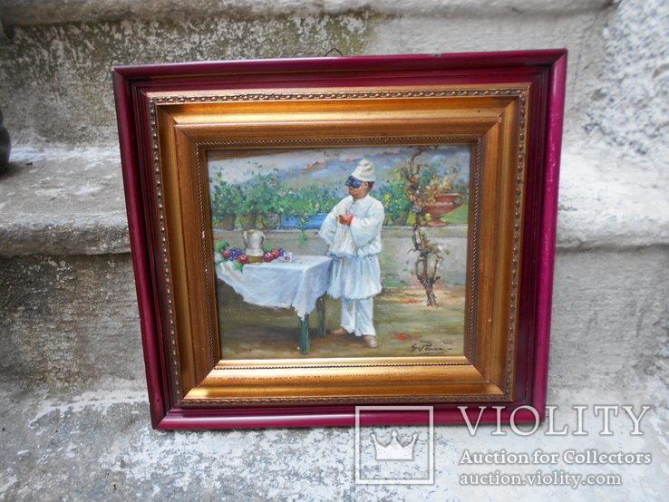 Pабота художника Джованни Панса 1920 г. Италия, фото №4