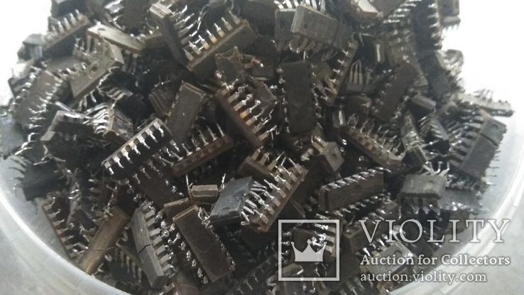 Микросхемы с содержанием драгметаллов 1.92кг, фото №4