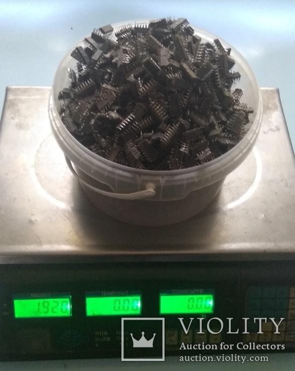 Микросхемы с содержанием драгметаллов 1.92кг, фото №5