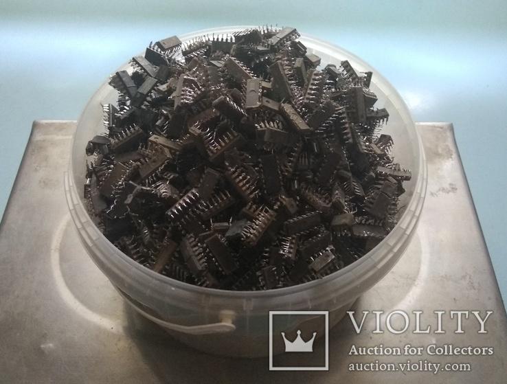 Микросхемы с содержанием драгметаллов 1.92кг, фото №6