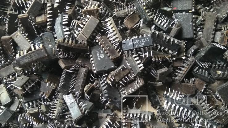 Микросхемы с содержанием драгметаллов 1.92кг, фото №9