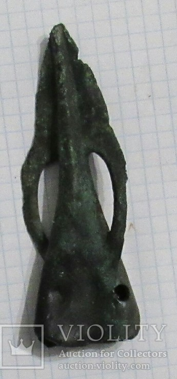 Белозерская культура, примерно 1250-1000гг. до н.э., наконечник типа