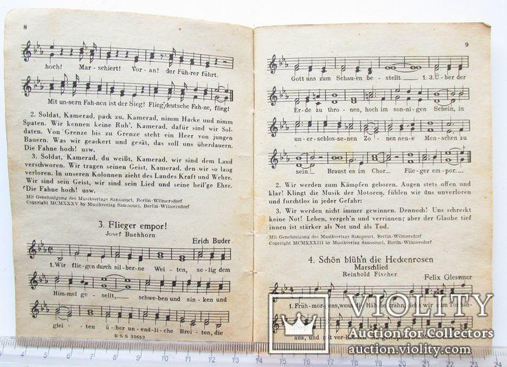 III REICH WHW карманная книга песенник Вермах Wermacht, фото №5