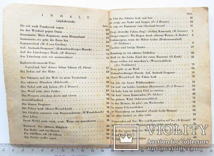 III REICH WHW карманная книга песенник Вермах Wermacht, фото №9