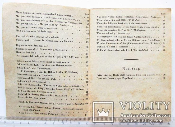 III REICH WHW карманная книга песенник Вермах Wermacht, фото №10