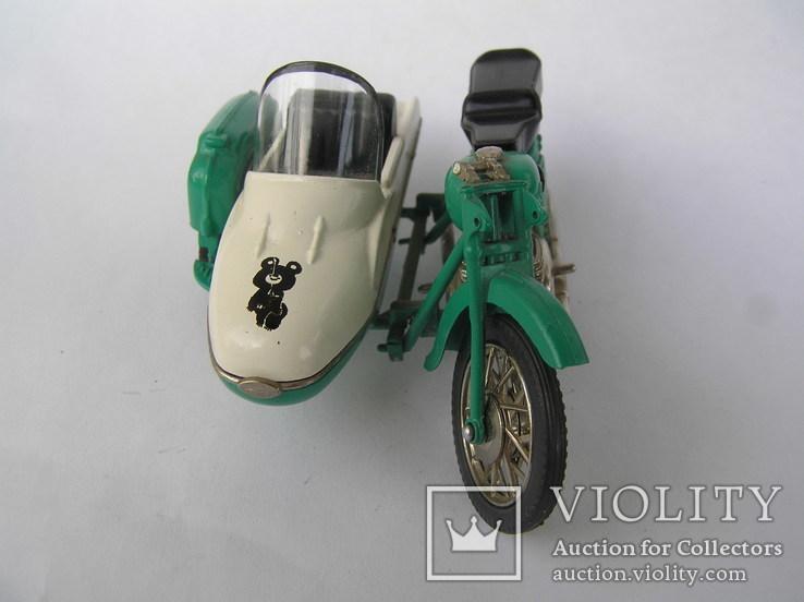 Мотоцикл ИЖ -Ю-2к Олимпийский мишка, фото №3