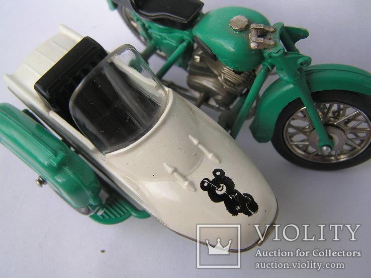 Мотоцикл ИЖ -Ю-2к Олимпийский мишка, фото №5
