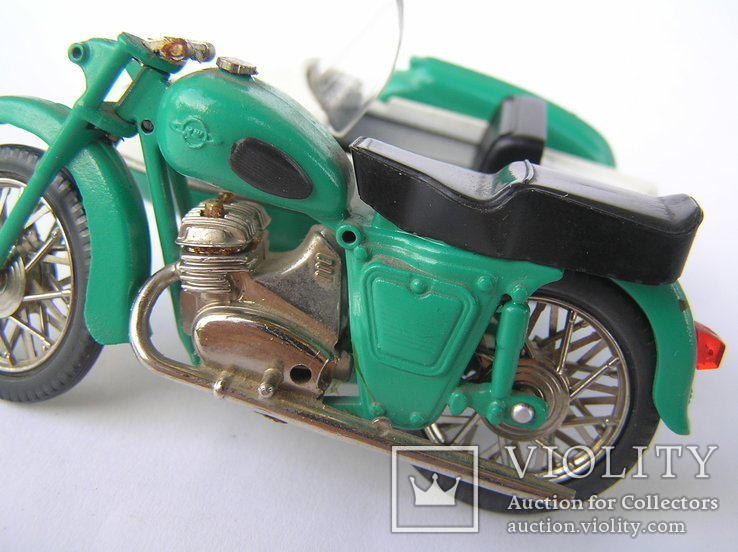 Мотоцикл ИЖ -Ю-2к Олимпийский мишка, фото №8