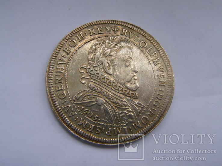 Талер 1605 р. Рудольф ІІ, фото №3