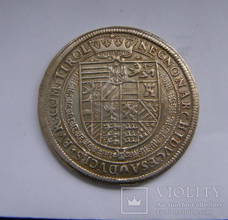 Талер 1605 р. Рудольф ІІ, фото №4