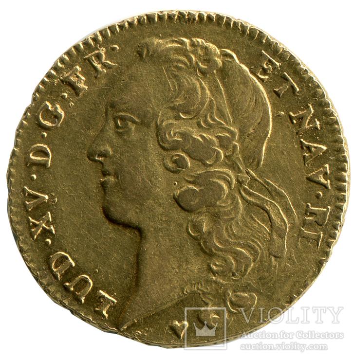 2 Луидора 1760г. Франция, фото №2