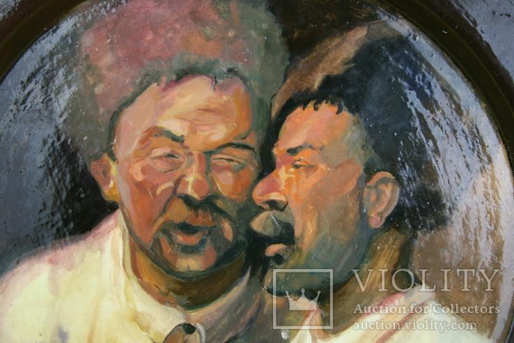 """""""Два приятелі"""" D-21см. Нецветаєва Ю. 2004, фото №3"""