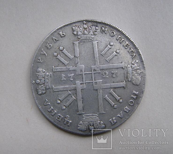 Рубль 1727 СПБ, фото №6