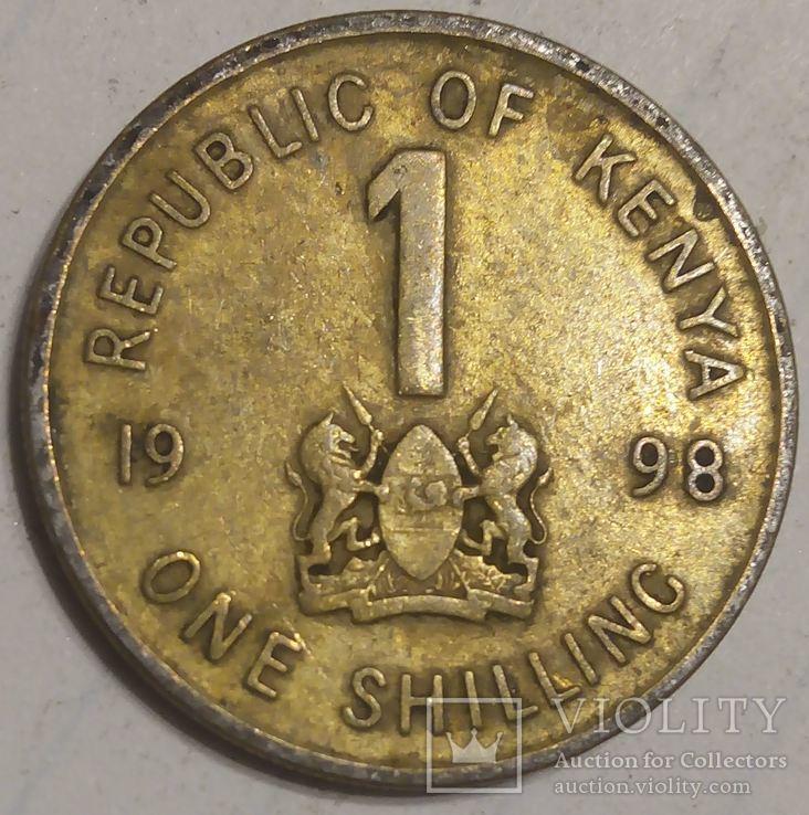 Кения 1 шиллинг 1998, фото №3
