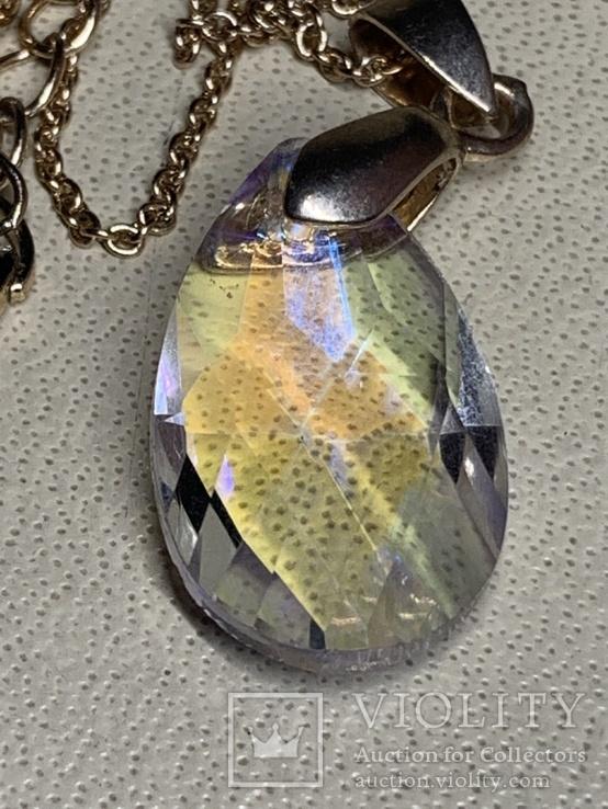 Кулон с кристаллом Сваровски от английского производителя Freedom